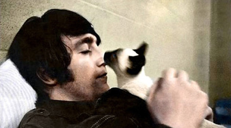 John-Lennon-and-cat
