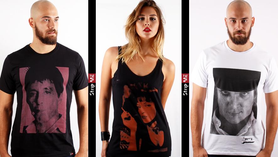 camisetas de filmes