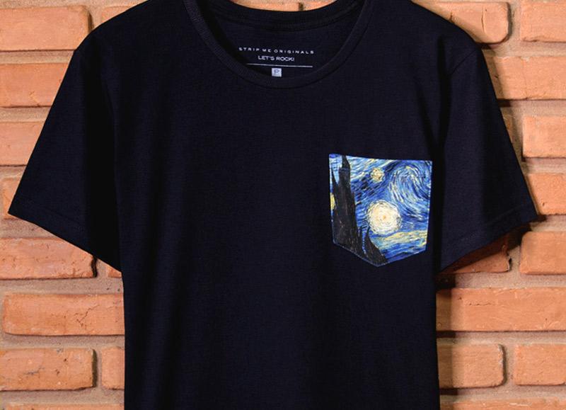 Camiseta Van Gogh - STM
