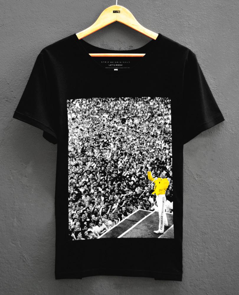 Camiseta Queen Freddie - STM. Disponivel na loja online: stripme.com.br